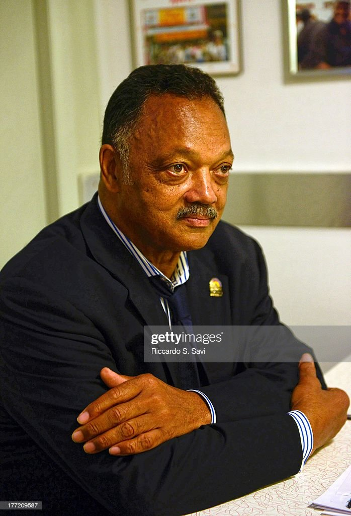 Rev. Jesse Jackson attends the 55th Anniversary of Ben's Chili Bowl on August 22, 2013 in Washington, DC.