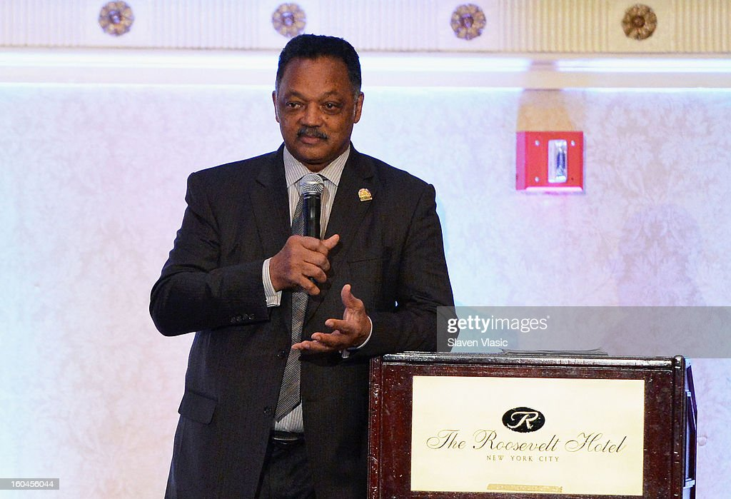 Rev. Jesse Jackson, founder and president of the Rainbow PUSH Coalition and organizer of the WSP attends the 16th Annual Wall Street Project 'Access To Captial' luncheon at The Roosevelt Hotel on January 31, 2013 in New York City.