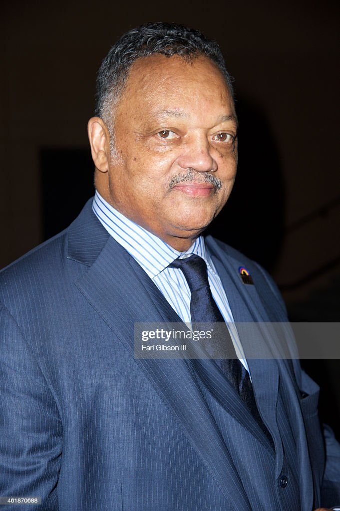 Rev. Jesse Jackson Sr. attends the Andrae Crouch Memorial Celebration Of Life at West Angeles Church of God And Christ on January 20, 2015 in Los Angeles, California.