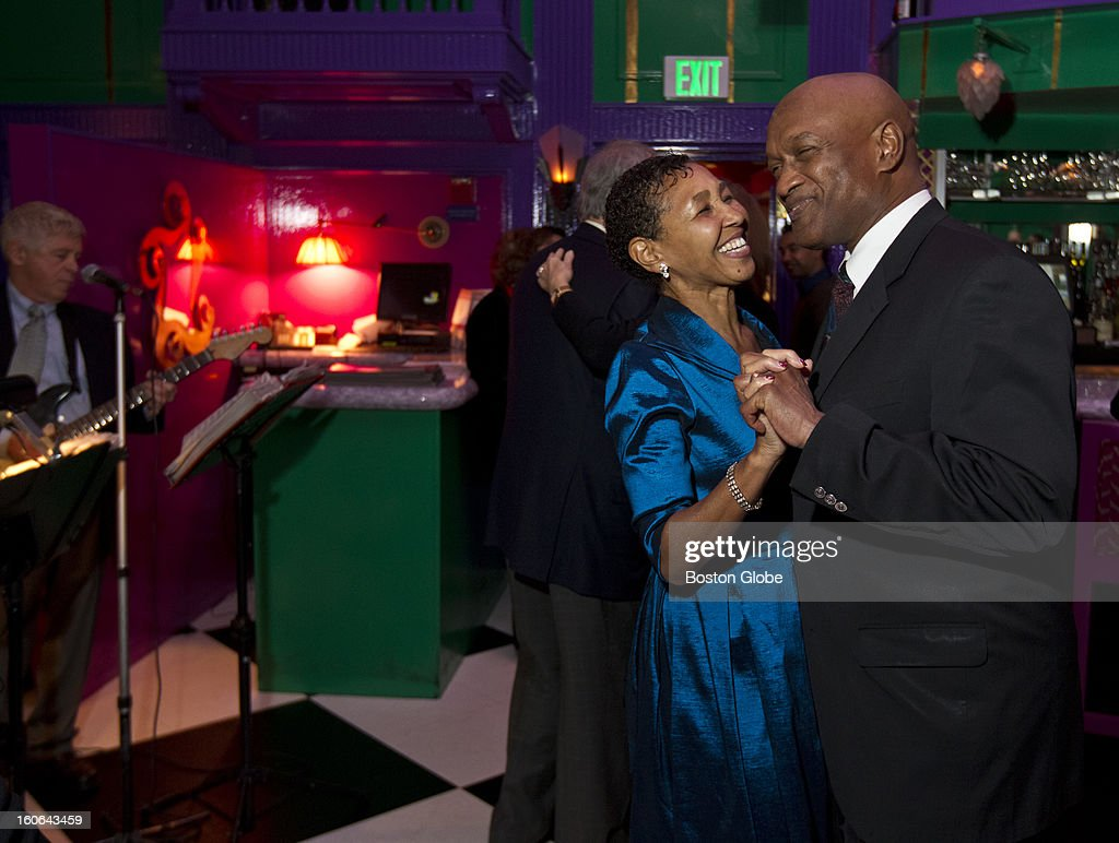 Rev. Ray Hammond dances with his wife, Gloria Hammond, during the Gala 50th Anniversary Holiday Dinner Dance at UpStairs on the Square on Thursday, Dec. 28, 2012.