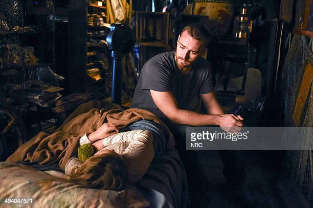 BELIEVE 'Revelation' Episode 112 Pictured Johnny Sequoyah as Bo Adams Jake McLaughlin as William Tate
