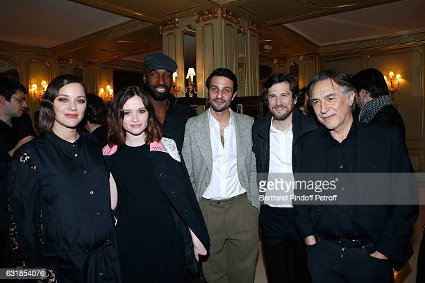 Revelation for 'Bang Gang' Marilyn Lima and her sponsor Marion Cotillard pregnant Revelation for 'Tout tout de suite' Marc Ruchmann and his sponsor...