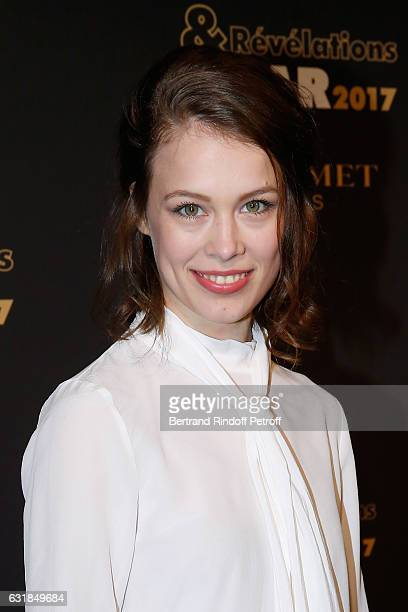 Revelation for 'Frantz' Paula Beer attends the 'Cesar Revelations 2017' Photocall and Cocktail at Chaumet on January 16 2017 in Paris France