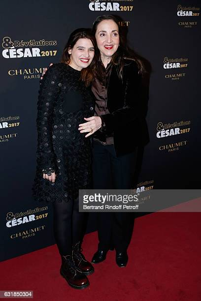 Revelation for 'Peur de rien' Manal Issa and her sponsor Dominique Blanc attend the 'Cesar Revelations 2017' Photocall and Cocktail at Chaumet on...