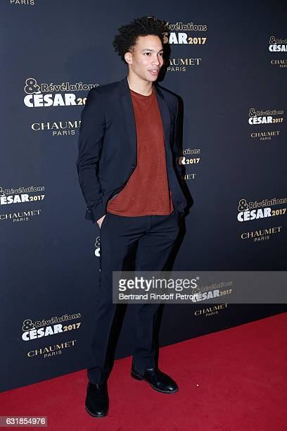 Revelation for 'Quand on a 17 ans' Corentin Fila attend the 'Cesar Revelations 2017' Photocall and Cocktail at Chaumet on January 16 2017 in Paris...