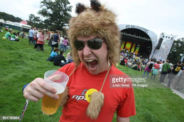 A reveller at Ireland's largest boutique music festival The Electric Picnic which opens today The festival features acts including the Sex Pistols...