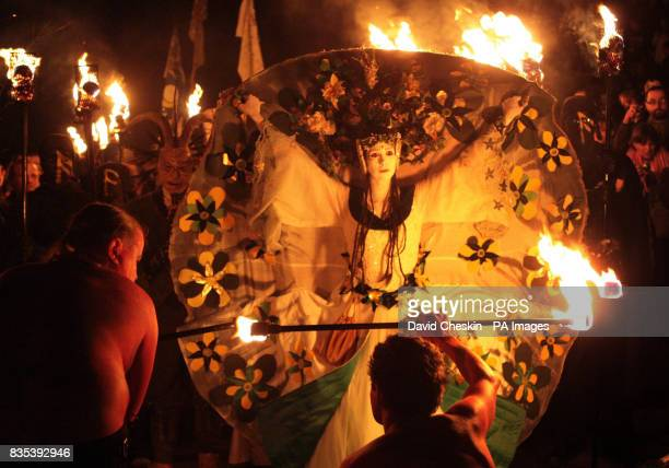 Revellers at the Beltane Fire Society's annual festival on Edinburgh's Calton Hill The ancient Gaelic festival of Beltane traditionally marked the...