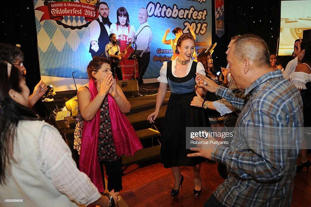 Revellers Gather To Celebrate Oktoberfest In Indonesia