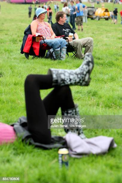 Revellers relax at Ireland's largest boutique music festival The Electric Picnic which opens today The festival features acts including the Sex...