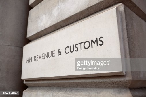 HM Revenue & Customs Sign (XXXL)