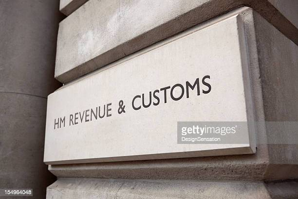 HM Revenue & Customs Sign (XXXL)