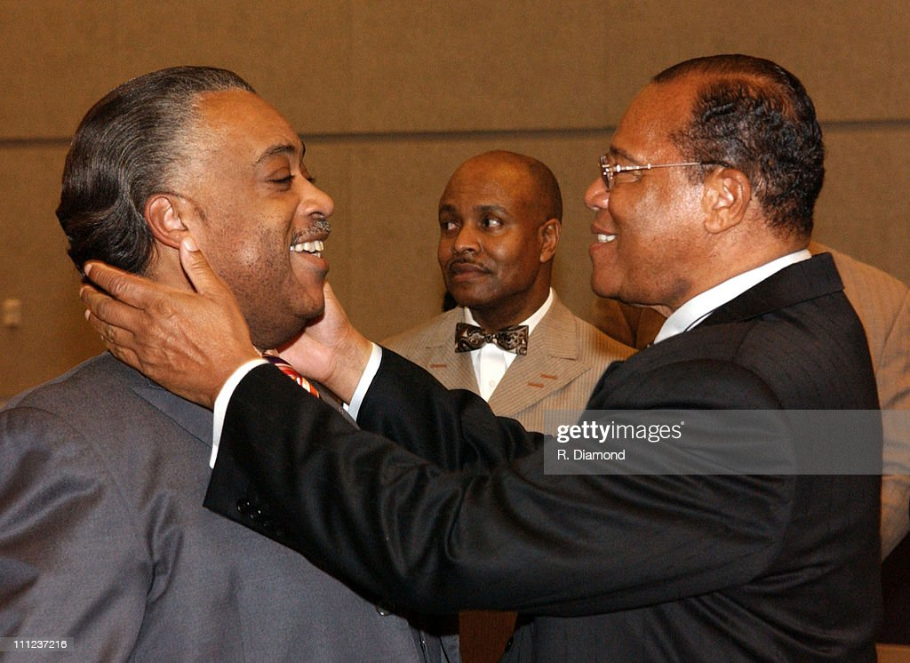 Reverend <a gi-track='captionPersonalityLinkClicked' href=/galleries/search?phrase=Al+Sharpton&family=editorial&specificpeople=202250 ng-click='$event.stopPropagation()'>Al Sharpton</a> and Minister <a gi-track='captionPersonalityLinkClicked' href=/galleries/search?phrase=Louis+Farrakhan&family=editorial&specificpeople=215023 ng-click='$event.stopPropagation()'>Louis Farrakhan</a>