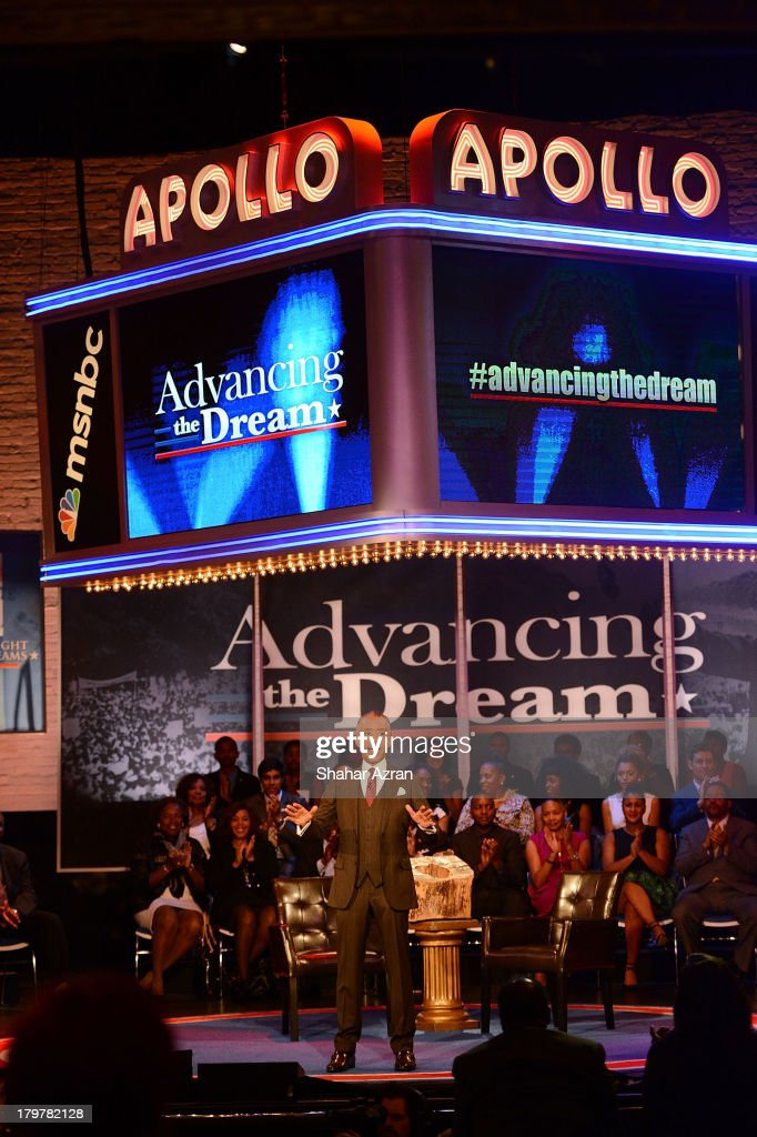 Reverend Al Sharpton attends 'Advancing The Dream: Live From The Apollo' Hosted By Reverend Al Sharpton at The Apollo Theater on September 6, 2013 in New York City.