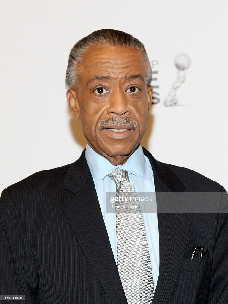 Reverend <a gi-track='captionPersonalityLinkClicked' href=/galleries/search?phrase=Al+Sharpton&family=editorial&specificpeople=202250 ng-click='$event.stopPropagation()'>Al Sharpton</a> attends the 43rd NAACP Image Awards viewing event at NJPAC – Prudential Hall on February 17, 2012 in Newark, New Jersey.