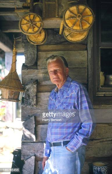 Reverend Billy Graham is photographed for Life Magazine in 1994 at home in Montreat North Carolina