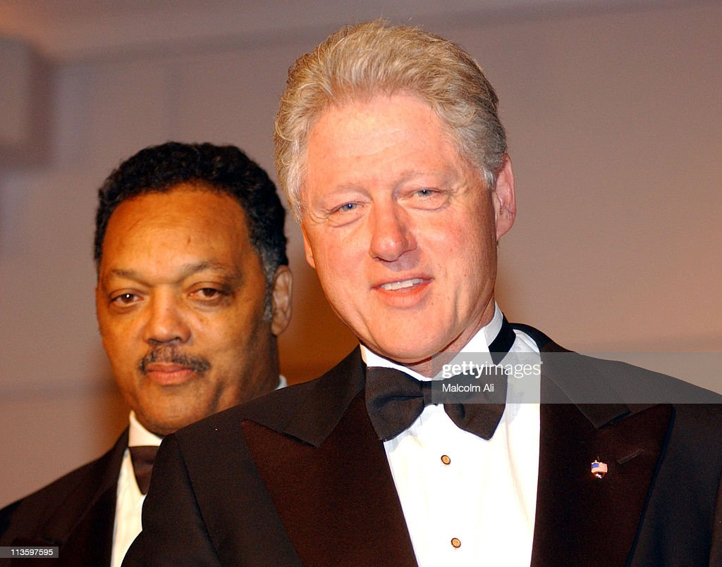Reverend Jesse Jackson and former President <a gi-track='captionPersonalityLinkClicked' href=/galleries/search?phrase=Bill+Clinton&family=editorial&specificpeople=67203 ng-click='$event.stopPropagation()'>Bill Clinton</a>