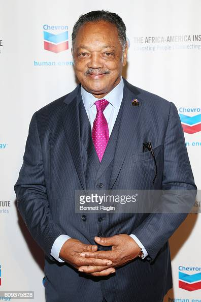 Reverend Jesse Jackson attends the AfricaAmerica Institute's 2016 Annual Awards Gala at Cipriani 25 Broadway on September 20 2016 in New York City