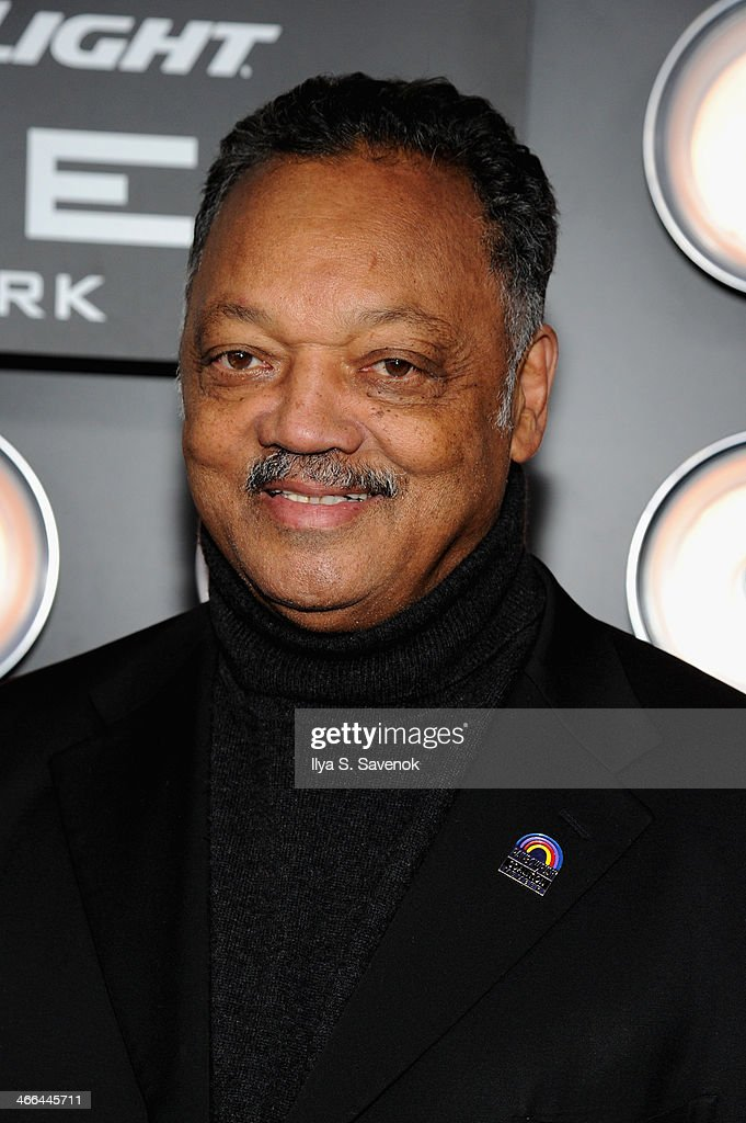 Reverend Jesse Jackson attends the Bud Light Hotel on February 1, 2014 in New York City.