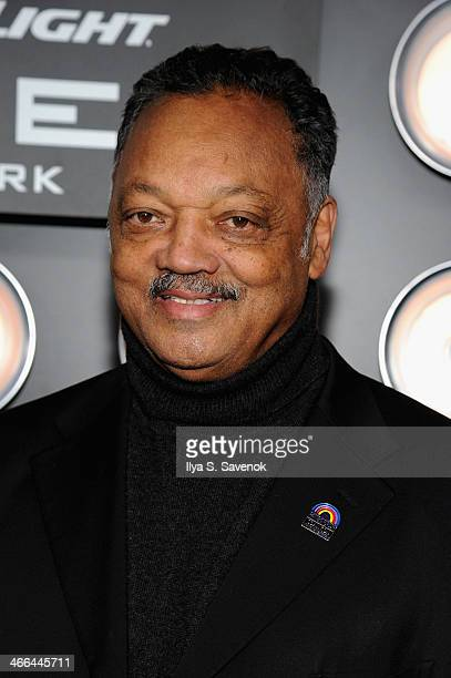 Reverend Jesse Jackson attends the Bud Light Hotel on February 1 2014 in New York City