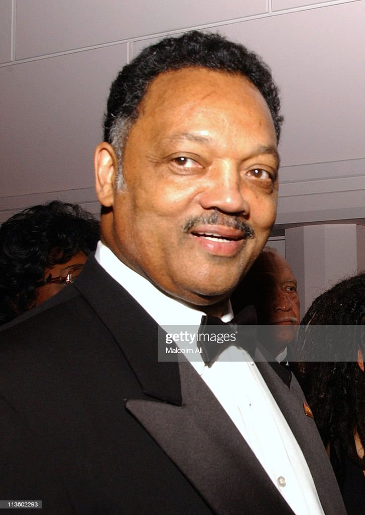 Reverend Jesse Jackson during Former President Bill Clinton Attends Tribute to Bishop Hamel Brookins at Beverly Hilton Hotel in Beverly Hills, California, United States.