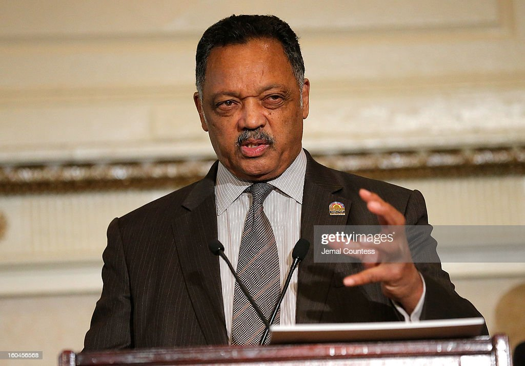 Reverend Jesse Jackson speaks onstage during The 16th Annual Wall Street Project Economic Summit - Day 1 at The Roosevelt Hotel on January 31, 2013 in New York City.