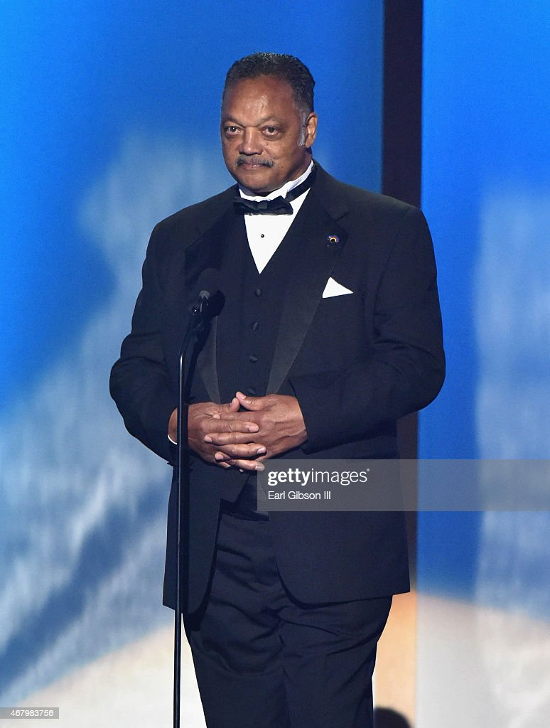 Reverend Jesse Jackson, Sr. speaks onstage during the 30th annual Stellar Gospel Music Awards at the Orleans Arena on March 28, 2015 in Las Vegas, Nevada.