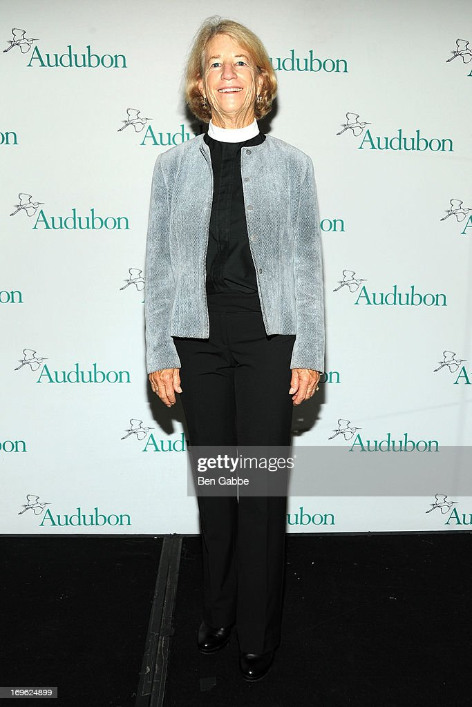 Reverend Sally Bingham attends The National Audubon Society 10th Anniversary Women in Conservation Luncheon on May 29, 2013 in New York, United States.
