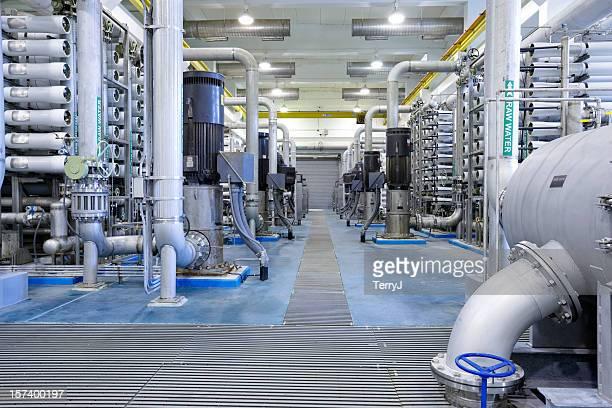 Ósmosis inversa de tratamiento de agua en planta