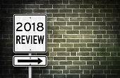 2018 Review - road sign concept