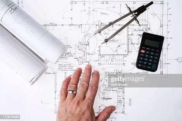 Überprüfung eine Technische Zeichnung