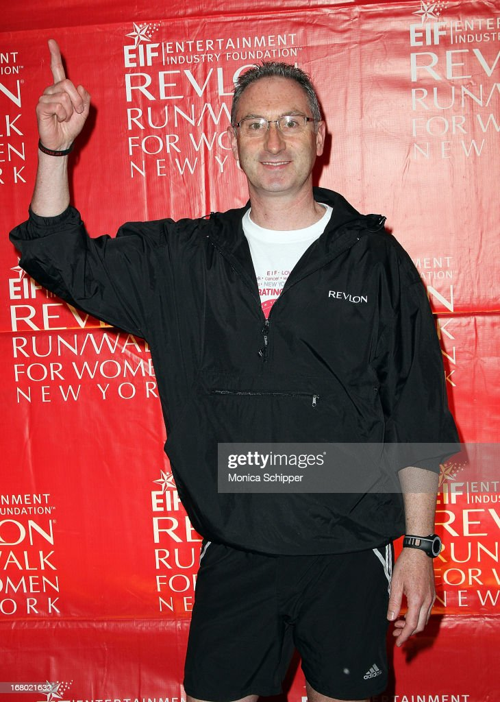 Revlon CEO, Alan Ennis attends the 16th annual EIF Revlon Run/Walk for Women>> in Times Square on May 4, 2013 in New York City.