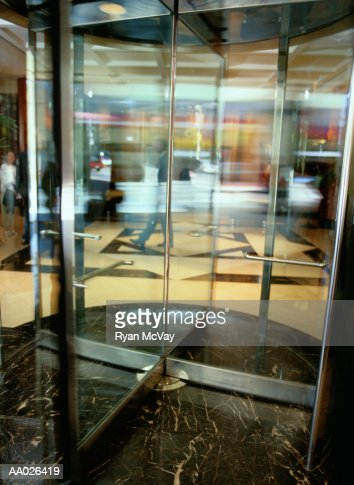 Revolving Door : Stock Photo