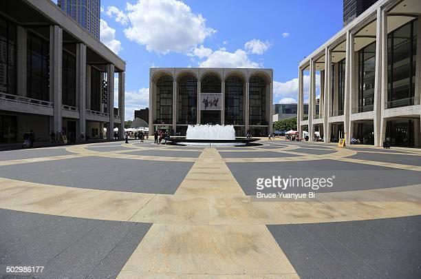 Revson Fountain in Lincoln Center