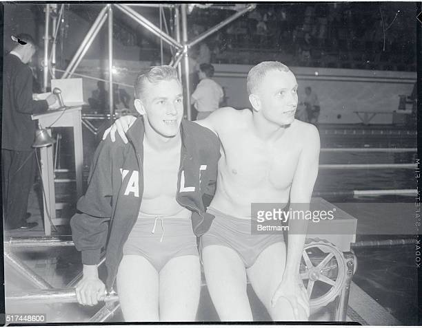 Rex Aubrey Yale junior from New South Wales Australia and Sandy Gionesse Yale senior from Highland Park NJ and a Canadian are friendly rivals who...