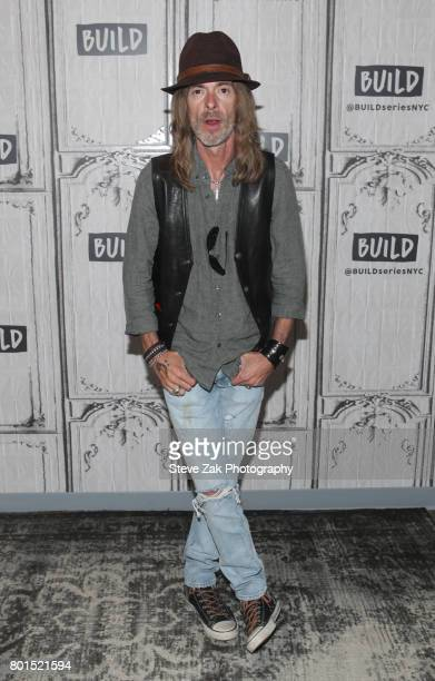 Rex Brown attends Build Series to discuss his new album 'Smoke On This' at Build Studio on June 26 2017 in New York City