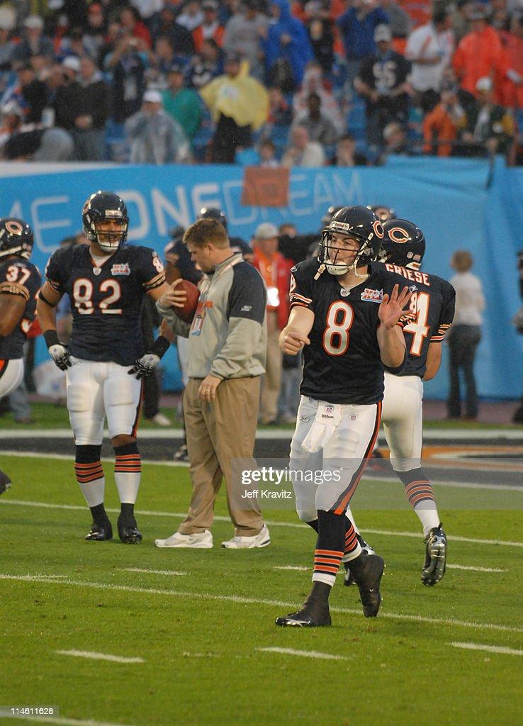 Rex Grossman Bears Super Bowl