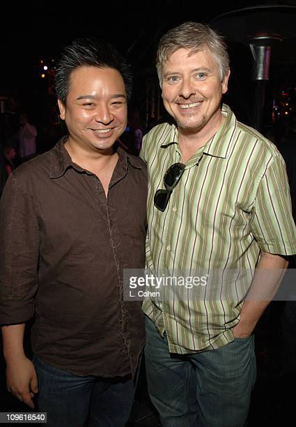 Rex Lee and Dave Foley during Stuff Magazine Hosts The Stuff Style Awards Inside at ArcLight in Los Angeles California United States