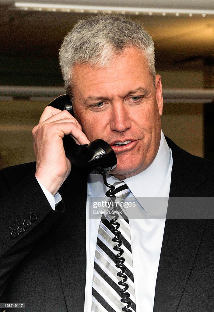 <a gi-track='captionPersonalityLinkClicked' href=/galleries/search?phrase=Rex+Ryan&family=editorial&specificpeople=2358658 ng-click='$event.stopPropagation()'>Rex Ryan</a> attends the 2013 Commissions For Charity Day at BTIG on May 14, 2013 in New York City.