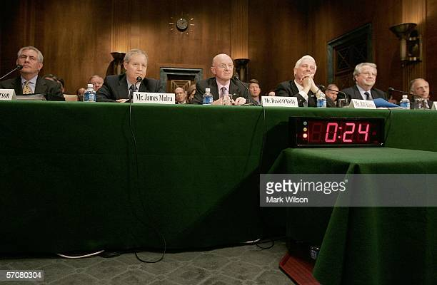 Rex Tillerson Chairman and Chief Executive Officer Exxon Mobil Corp James Mulva Chairman and Chief Executive Officer Conoco Phillips David O'Reilly...