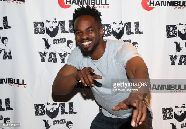 Rey Gibbs attends The Film Review Comedy Show at Helen Mills Theater on June 28 2017 in New York City