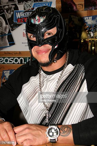 Rey Mysterio at the WWE Wrestler Rey Mysterio Signs His Book 'Are We There Yet' at Eason Book Shop in Dublin at Eason Book Shop in Dublin