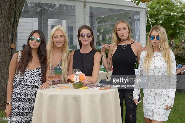 Reya Benitez Karen Shiboleth Jordan Kanegis Gaia Matisse and Natalie Jackson attend DuJour's Jason Binn Hamptons brunch presented by EAST Miami on...