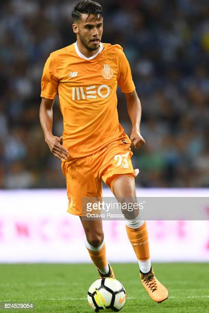 Reyes of FC Porto in action during the PreSeason Friendly match between FC Porto and RC Deportivo La Coruna at Estadio do Dragao on July 30 2017 in...