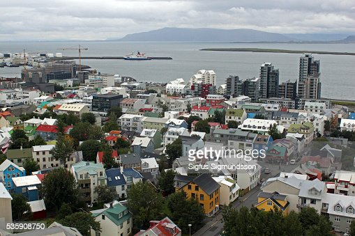 Reykjavik - Iceland : Foto de stock