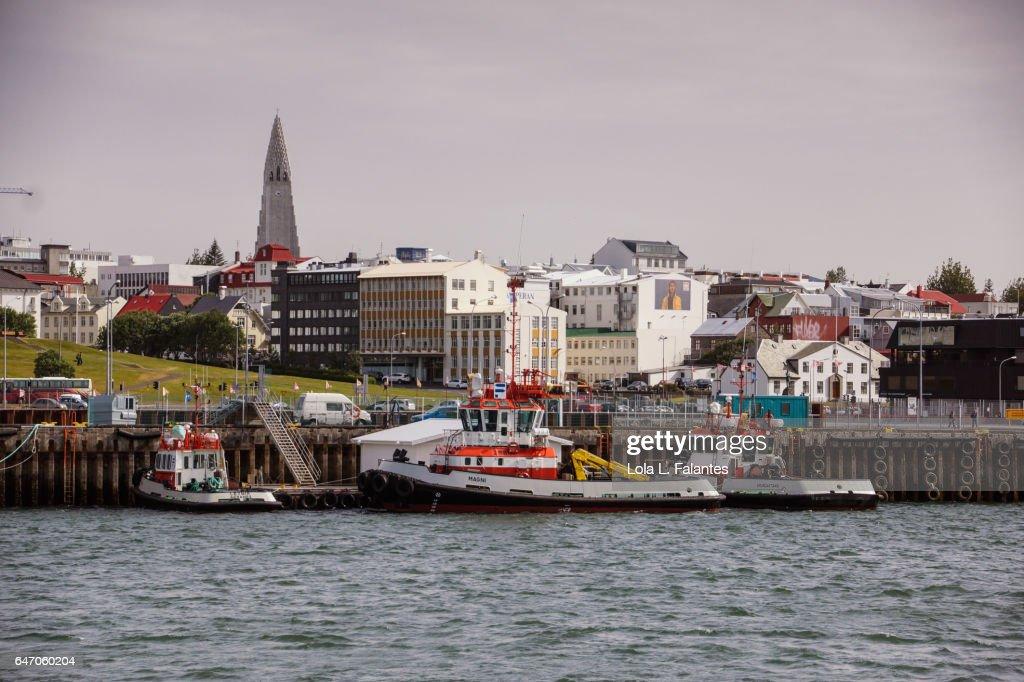Reykjavik skyline : Foto de stock