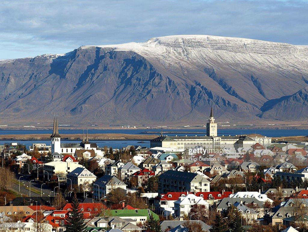 Reykjavík view