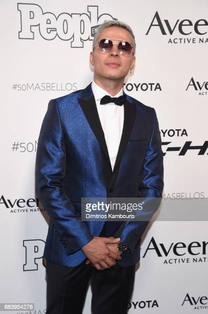 Reykon arrives at People en Espanol's 50 Most Beautiful Gala 2017 at Espace on May 16 2017 in New York City