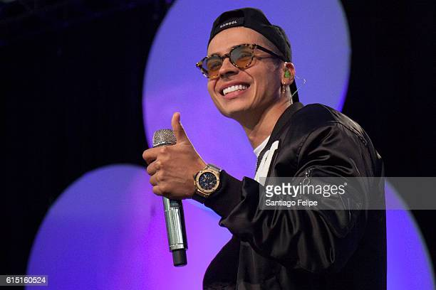 Reykon performs onstage during the 5th Annual Festival People en Espanol at The Jacob K Javits Convention Center on October 16 2016 in New York City
