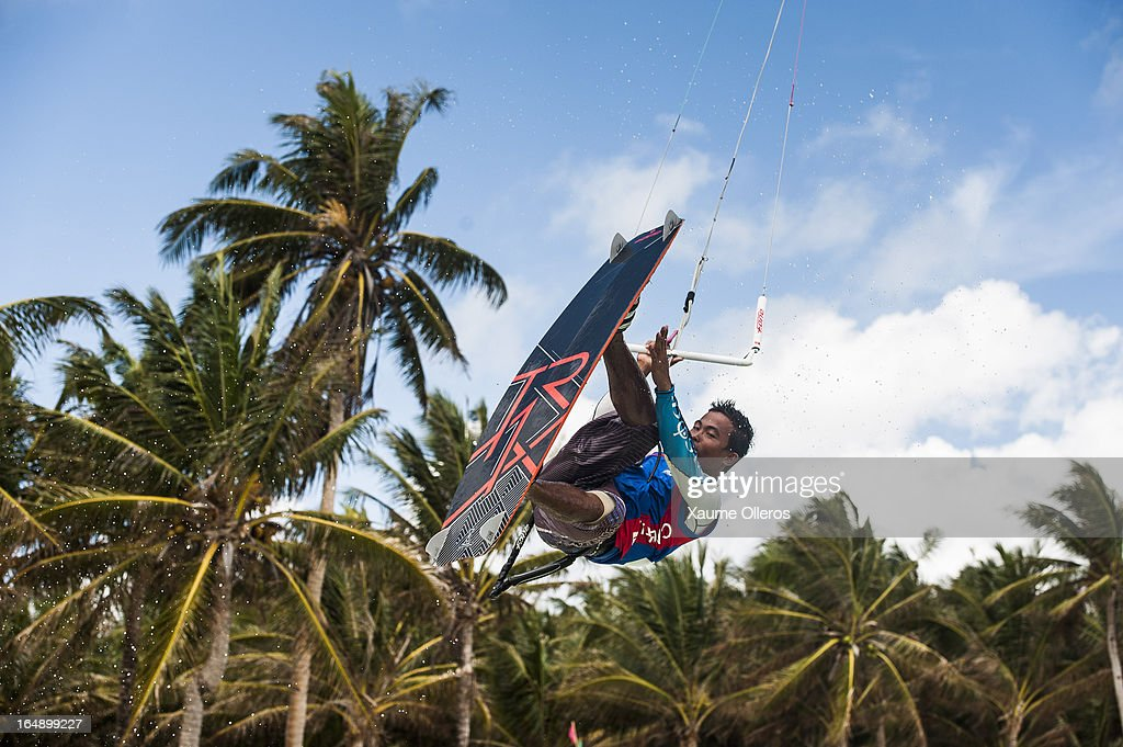 Reynard Gasijan of Philippines in action during a training session on day four of the KTA at Boracay Island on March 29, 2013 in Makati, Philippines.