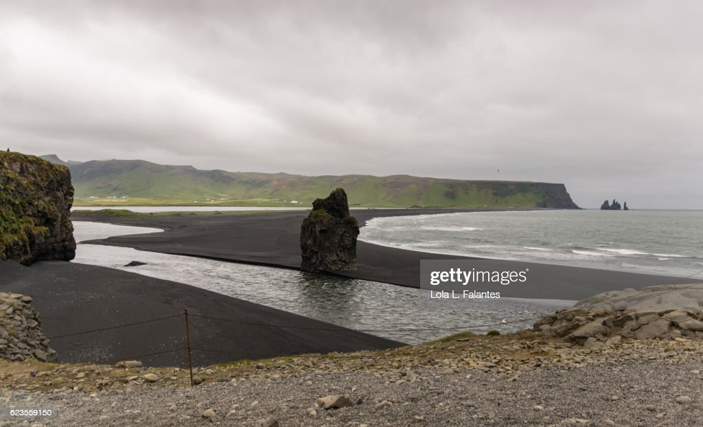 Reynisfjara, Iceland : Foto de stock